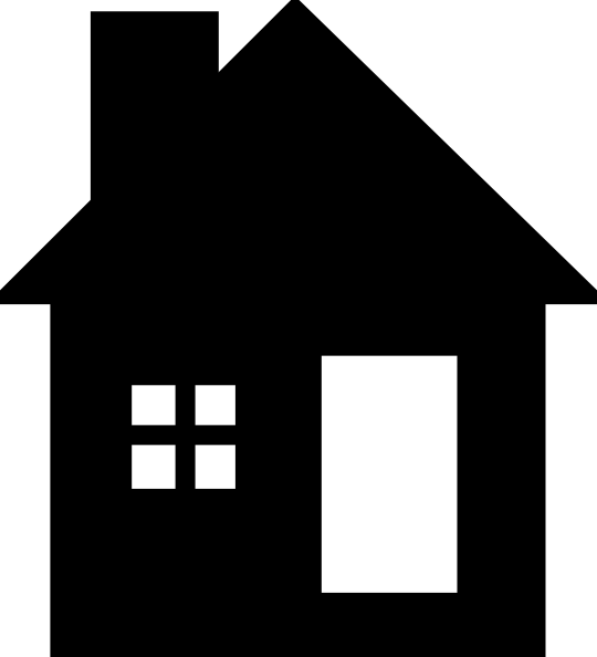 pin White House clipart small house #1 - PNG House Black And White