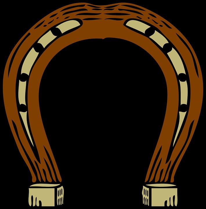Hufeisen, Brown, Gold, Pferd, Schuh, Pferde, Schmied - PNG Hufeisen