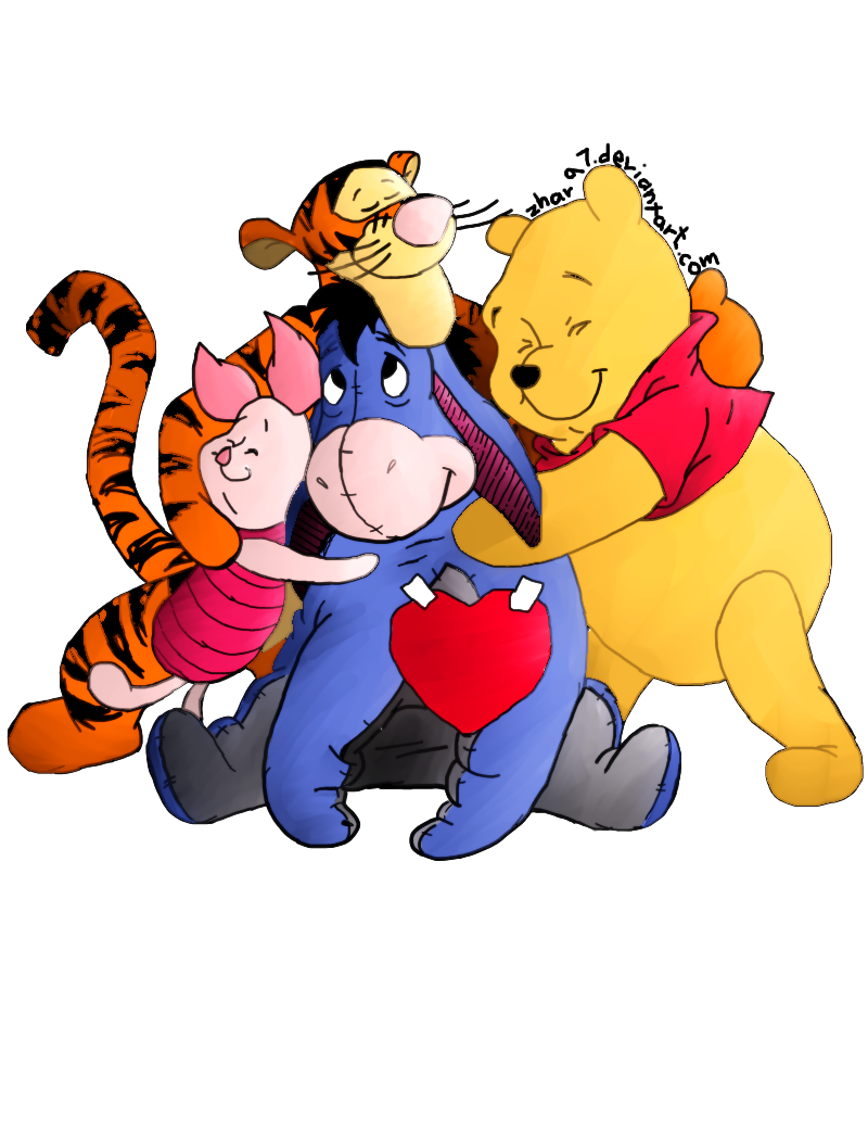 PNG Hugs Friends - 52730