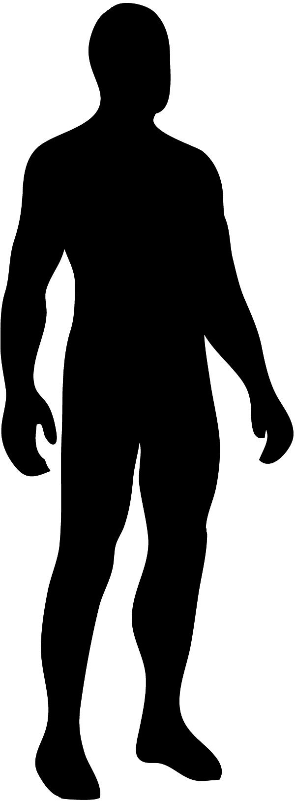 Body Outline Clip Art - PNG Human Body Outline