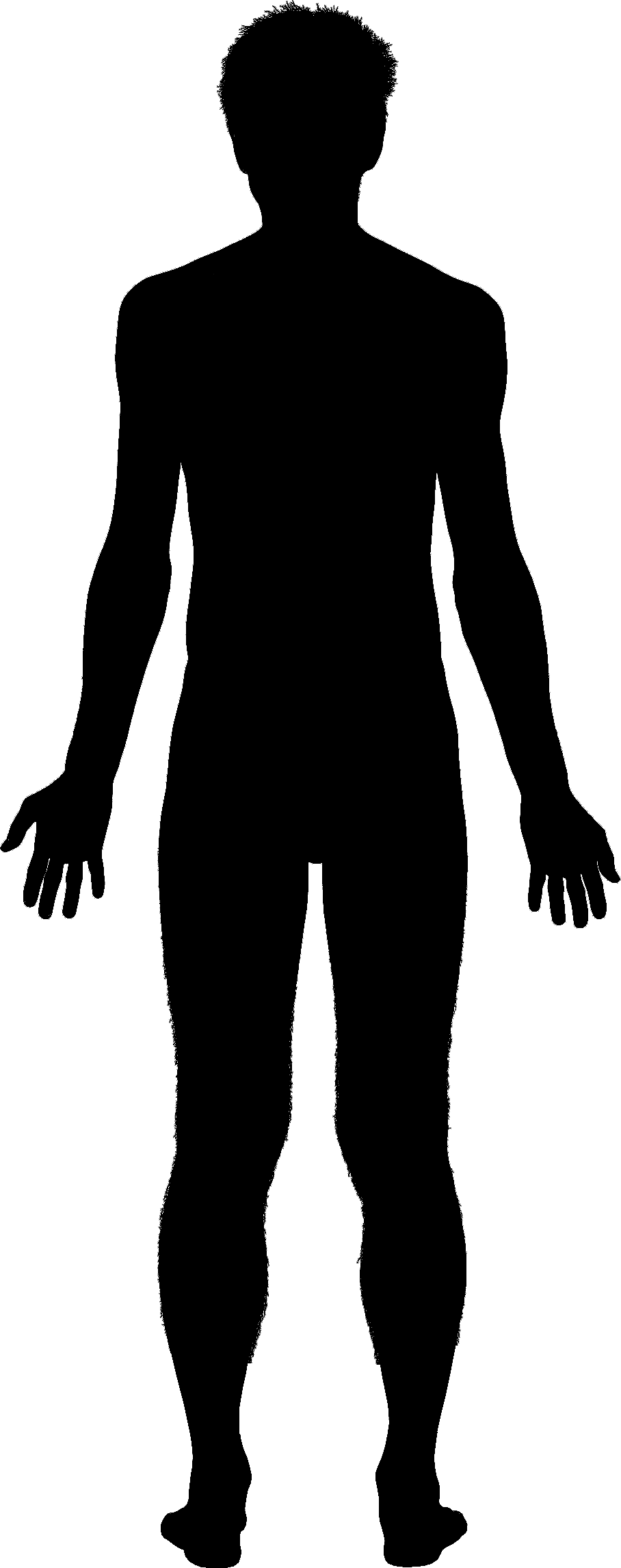 PNG Human Body Outline - 69388