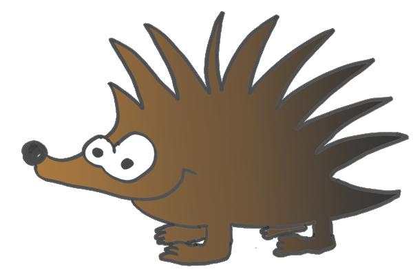 Der Igel kennt sich mit der Heatmap aus. - PNG Igel
