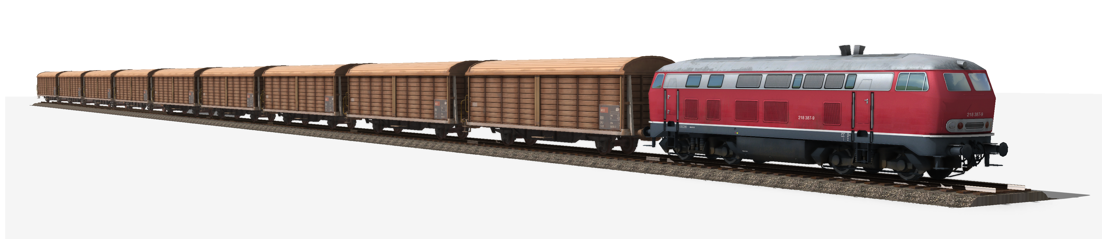 PNG Image Of Train-PlusPNG.com-3840 - PNG Image Of Train