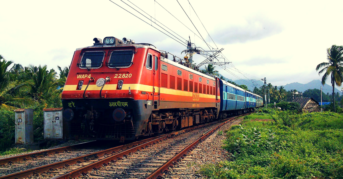 Train Ticket Wait Listed? Soon you can Board an Alternate Train with the  Same Ticket - The Better India - PNG Image Of Train