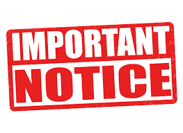 PNG Important Notice - 50736