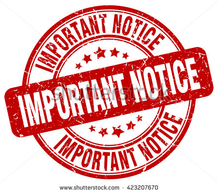 important notice. stamp - PNG Important Notice