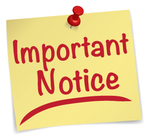 PNG Important Notice - 50738
