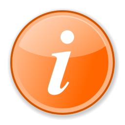 File:Information orange.svg - PNG Information