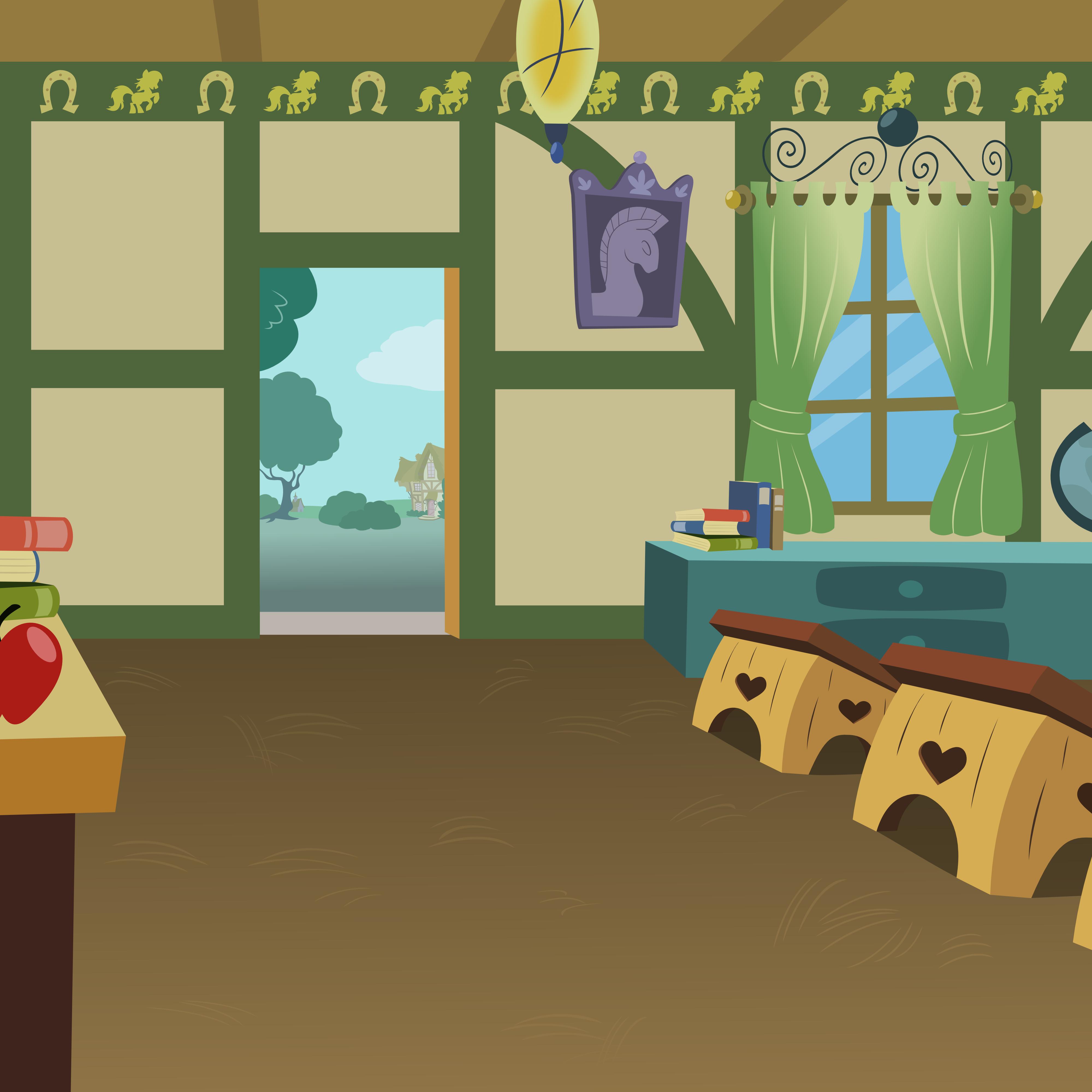 Inside ponyvillie school house by matty4z on deviantart png inside house