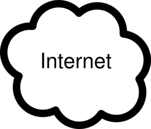 Internet-cloud Clip Art - PNG Internet Cloud