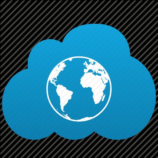 Internet cloud visio internet