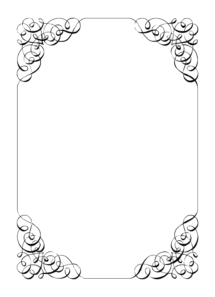 collection of png invitation borders  pluspng