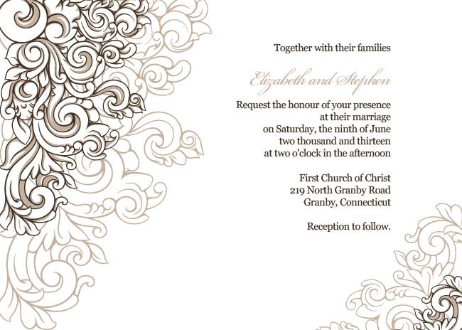 PNG Invitation Borders - 52527
