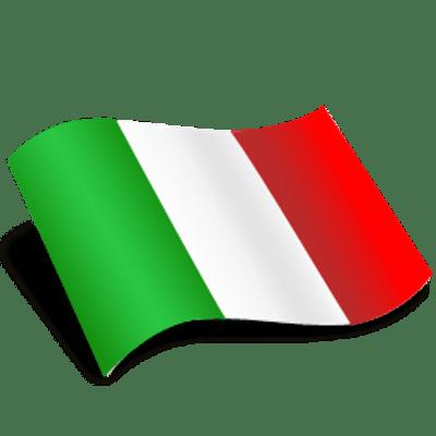 Italian Flag Wave Icon - PNG Italian Flag