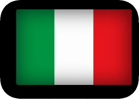 Itlay flag clipart rectangular - PNG Italian Flag