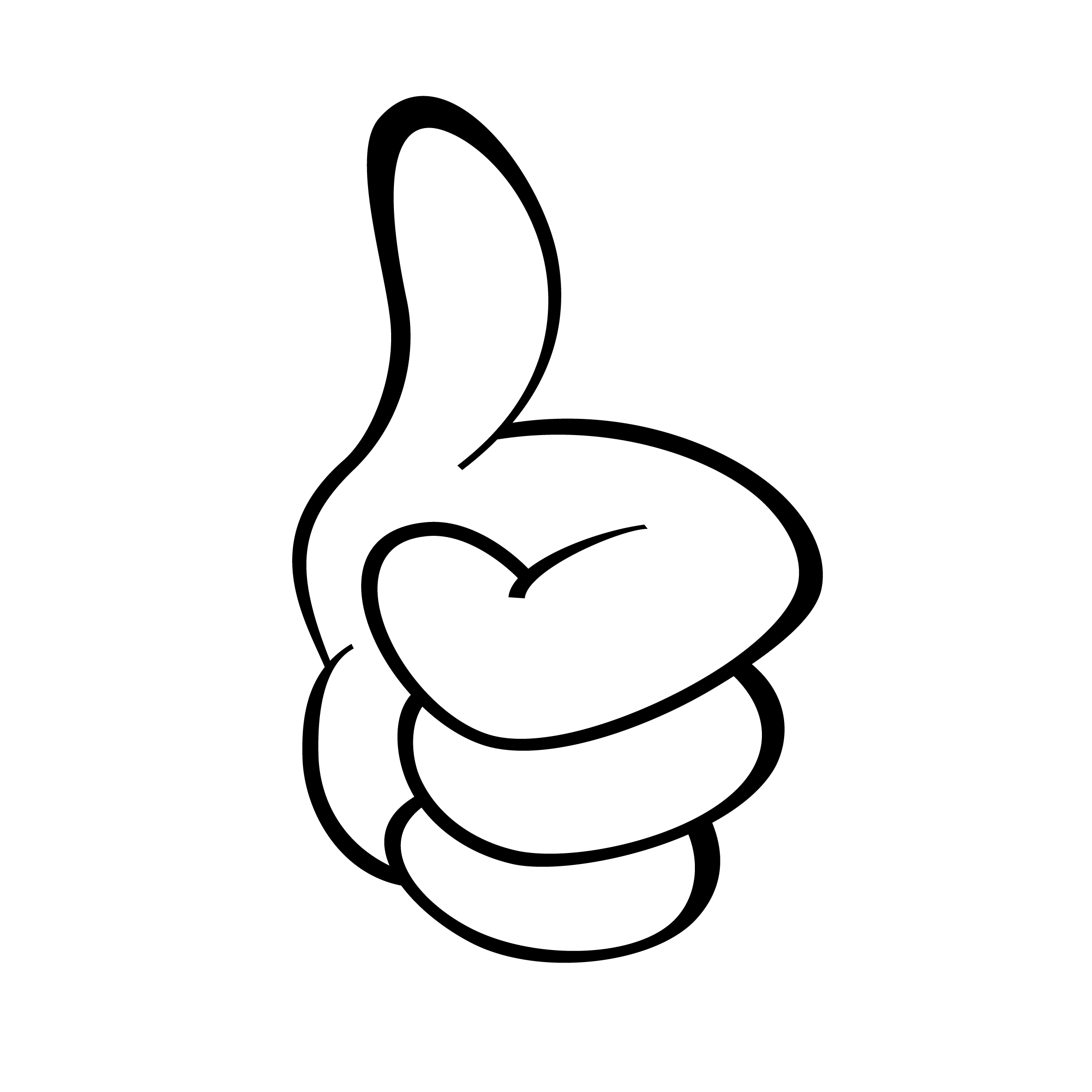 Thumbs Up Image - Clipart library - PNG Jempol