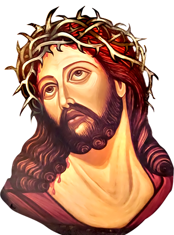 PNG Jesus Face - 69608