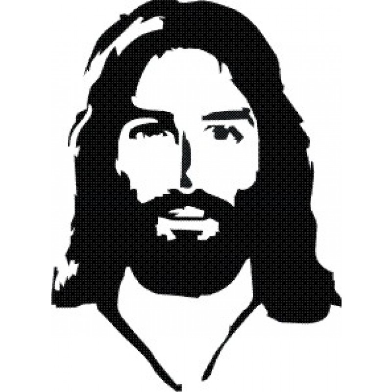 pin Pice clipart jesus face #8 - PNG Jesus Face