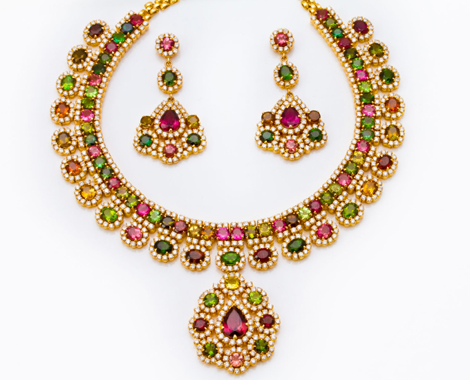 The signature colored stone collection from PNG Jewelers - PNG Jewellery