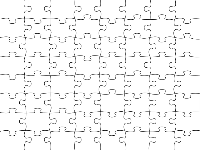 File:Jigsaw Puzzle.svg - PNG Jigsaw Puzzle