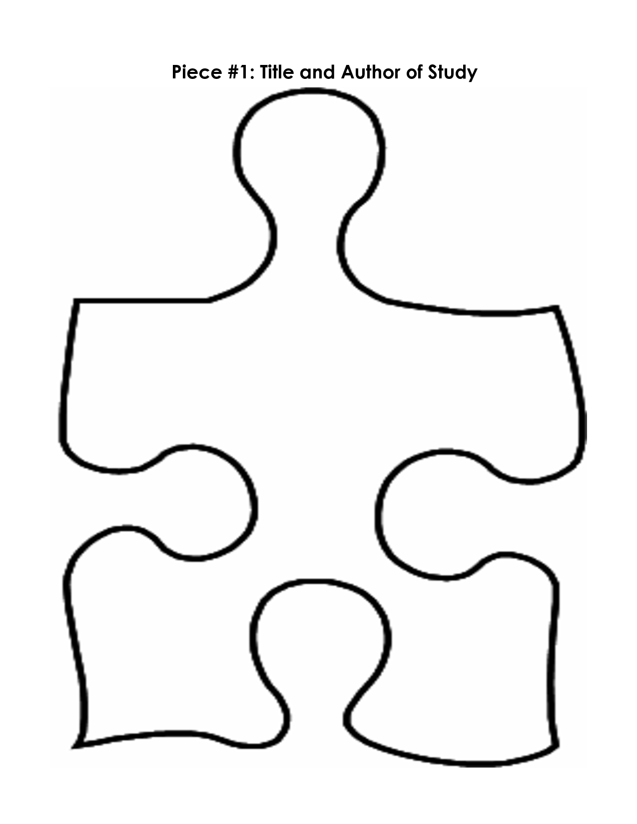 5 Piece Puzzle Template - PNG Jigsaw Puzzle Pieces