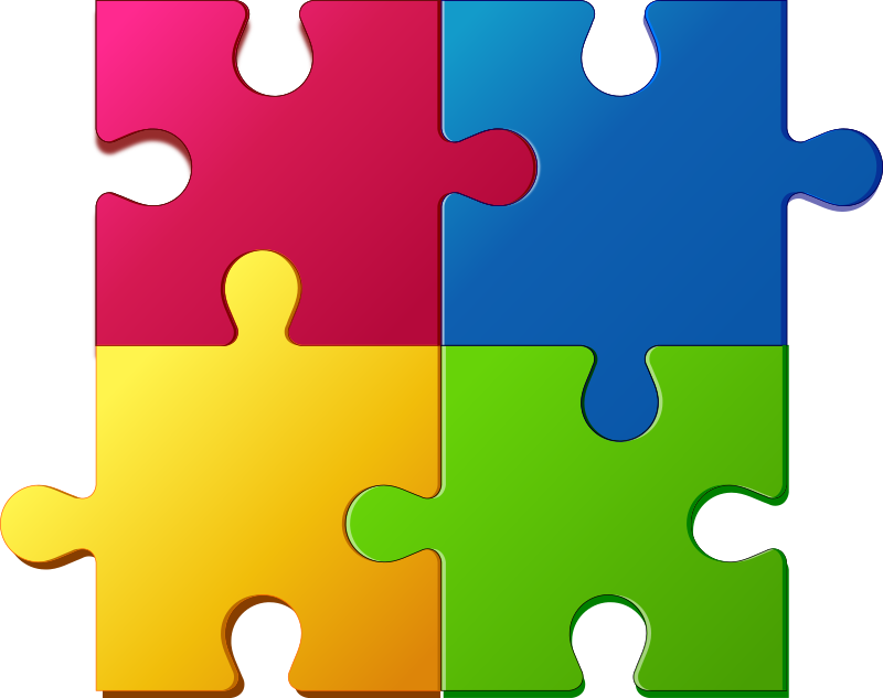 PNG Jigsaw Puzzle Pieces - 49008