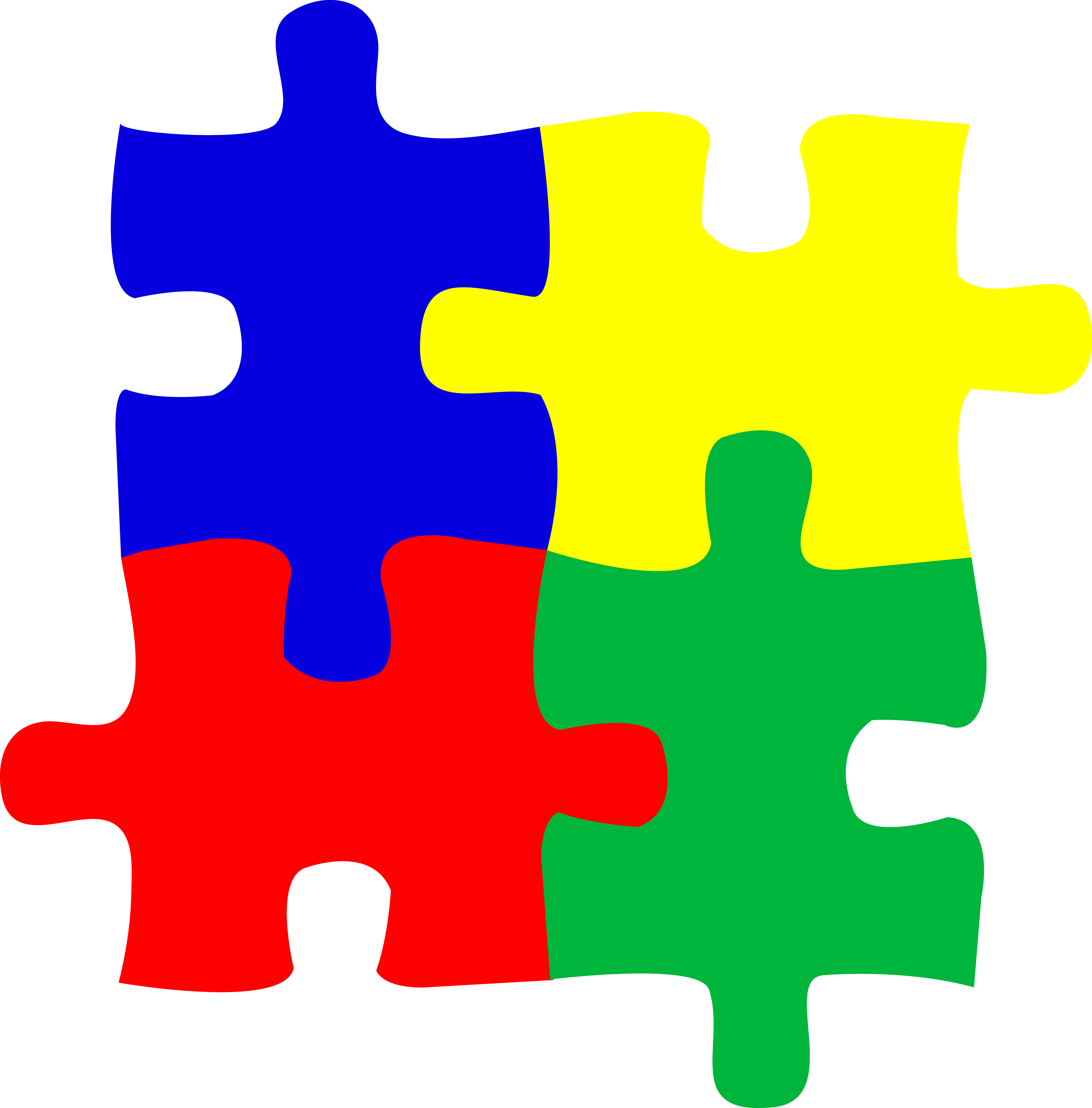PNG Jigsaw Puzzle Pieces - 49009