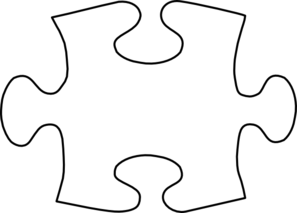 White Jigsaw Puzzle Piece Clip Art - PNG Jigsaw Puzzle