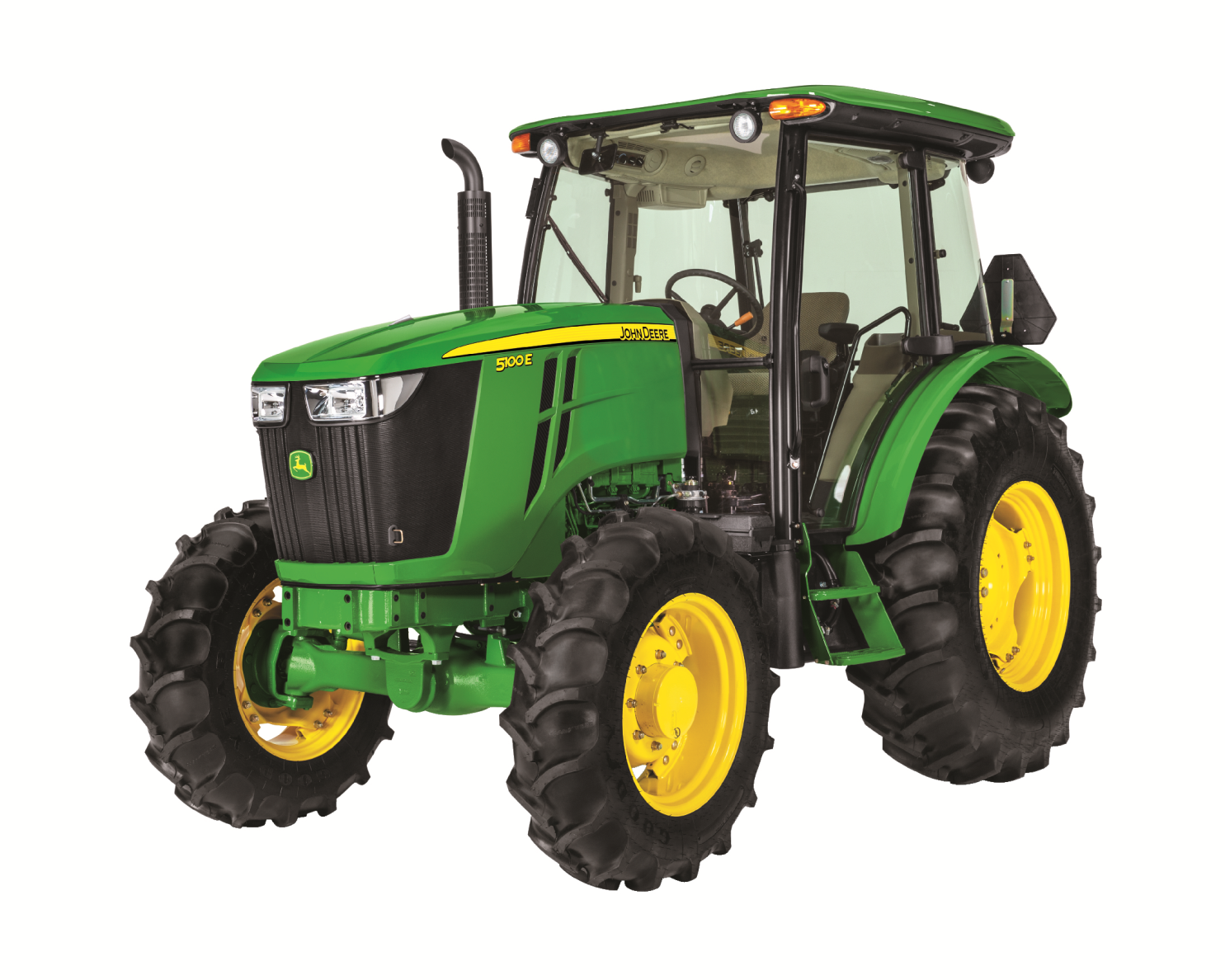 0% APR for 60 Months OR get up to $3000 off on (85-100hp) John Deere 5E  Series Utility Tractors 5100E - PNG John Deere Tractor