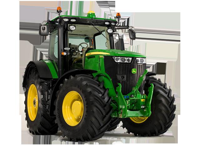 270 HP Engine - PNG John Deere Tractor