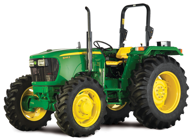 5065 E 4WD Tractor - PNG John Deere Tractor