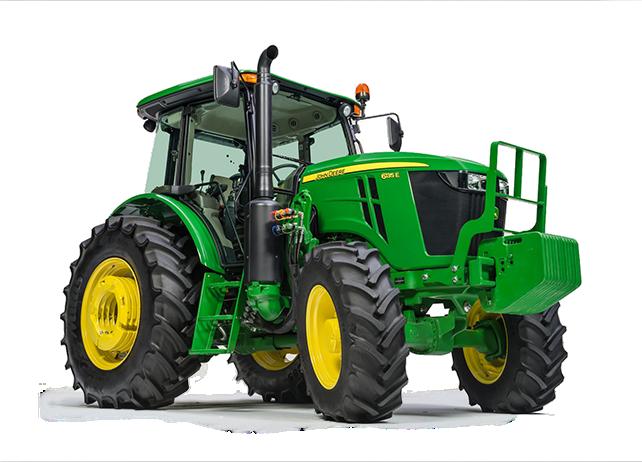 Features u0026 Specs. FT4 John Deere PlusPng.com  - PNG John Deere Tractor