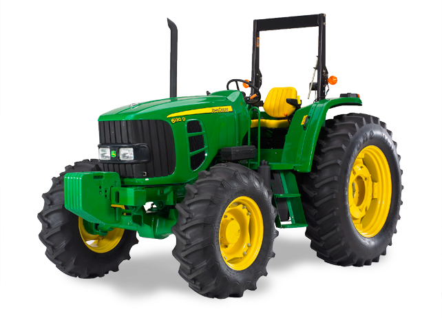 Four Wheel Drive and Track Tractors. The John Deere PlusPng.com  - PNG John Deere Tractor
