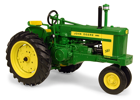 John Deere 720 Narrow Front Tractor - Prestige Collection - PNG John Deere Tractor
