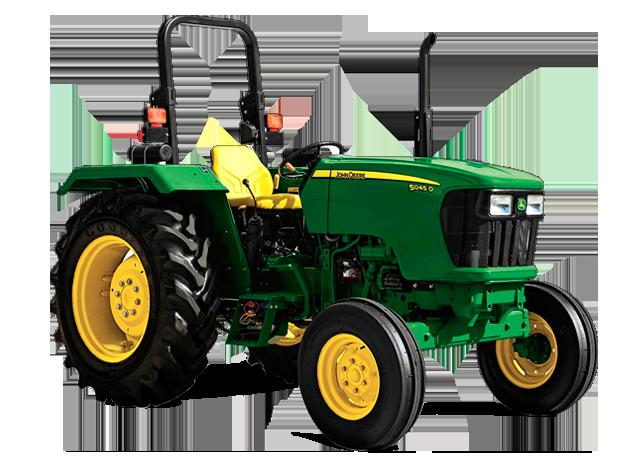 Tires for John Deere 5000 series tractor - PNG John Deere Tractor