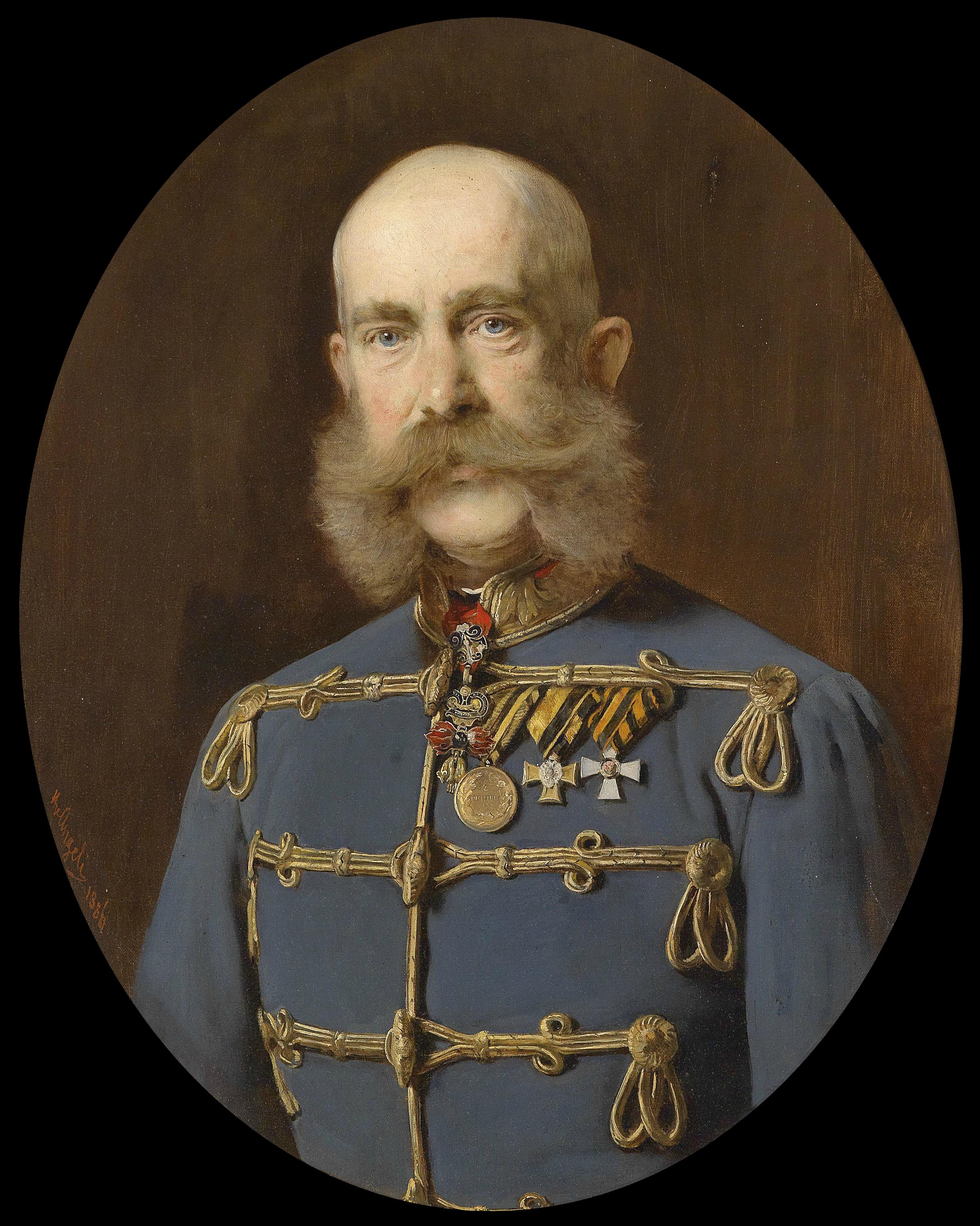 File:Heinrich von Angeli Kaiser Franz Joseph 1886.png - PNG Joseph