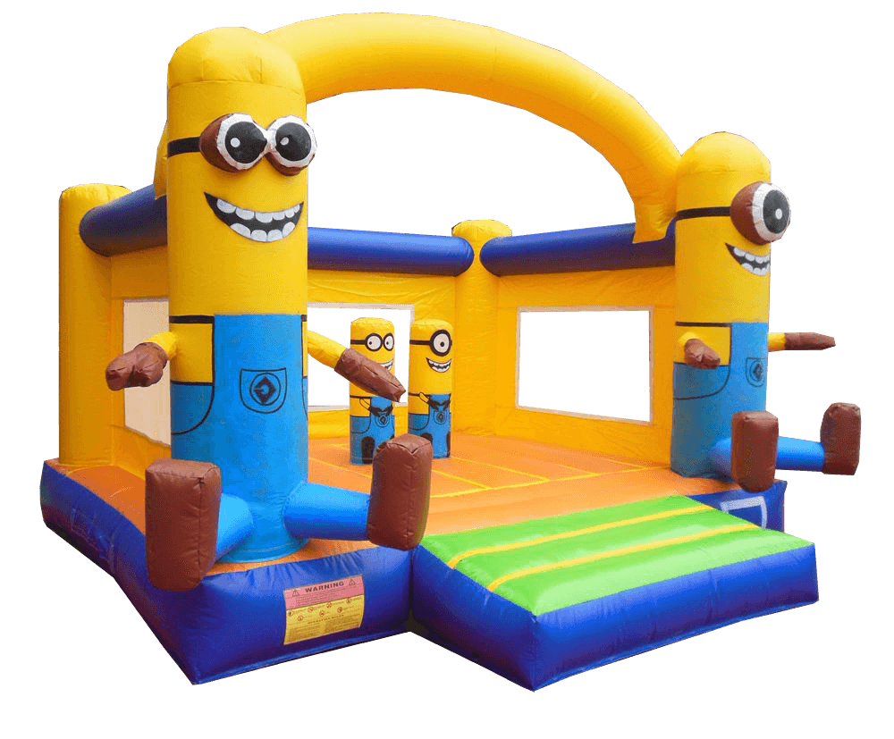 Minions - Wonderland Jumping Castles - PNG Jumping Castle