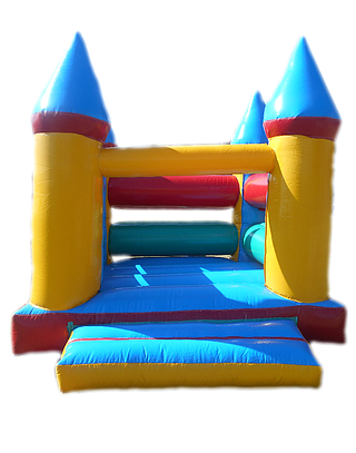 We have a range of brightly coloured jumping castles in a variety of shapes  and sizes. The jumping castles are aimed at the older children. - PNG Jumping Castle