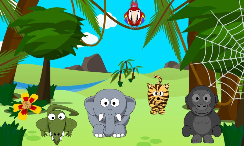 PNG Jungle Scene - 48817