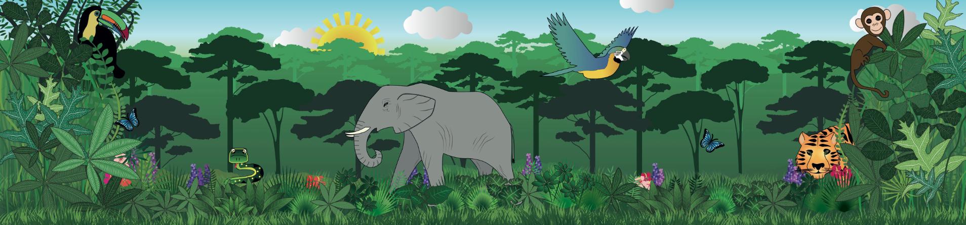 PNG Jungle Scene - 48820