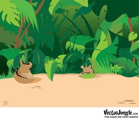 PNG Jungle Scene - 48821