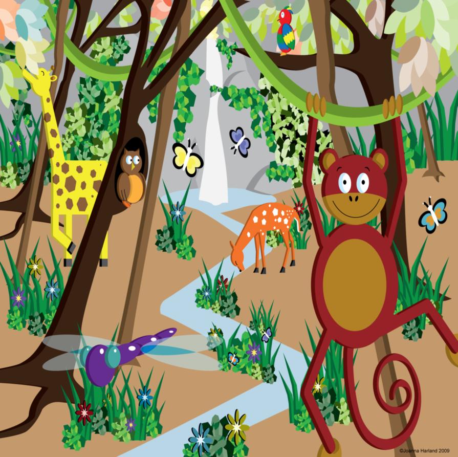 PNG Jungle Scene - 48824