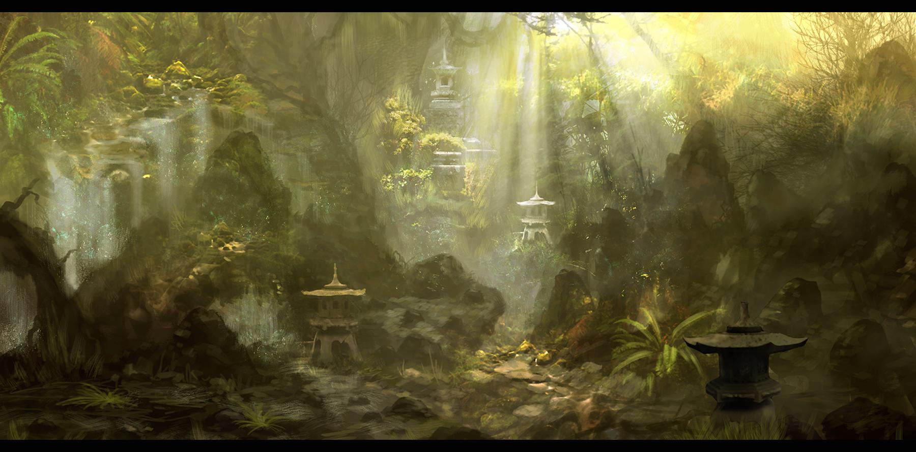 PNG Jungle Scene - 48816