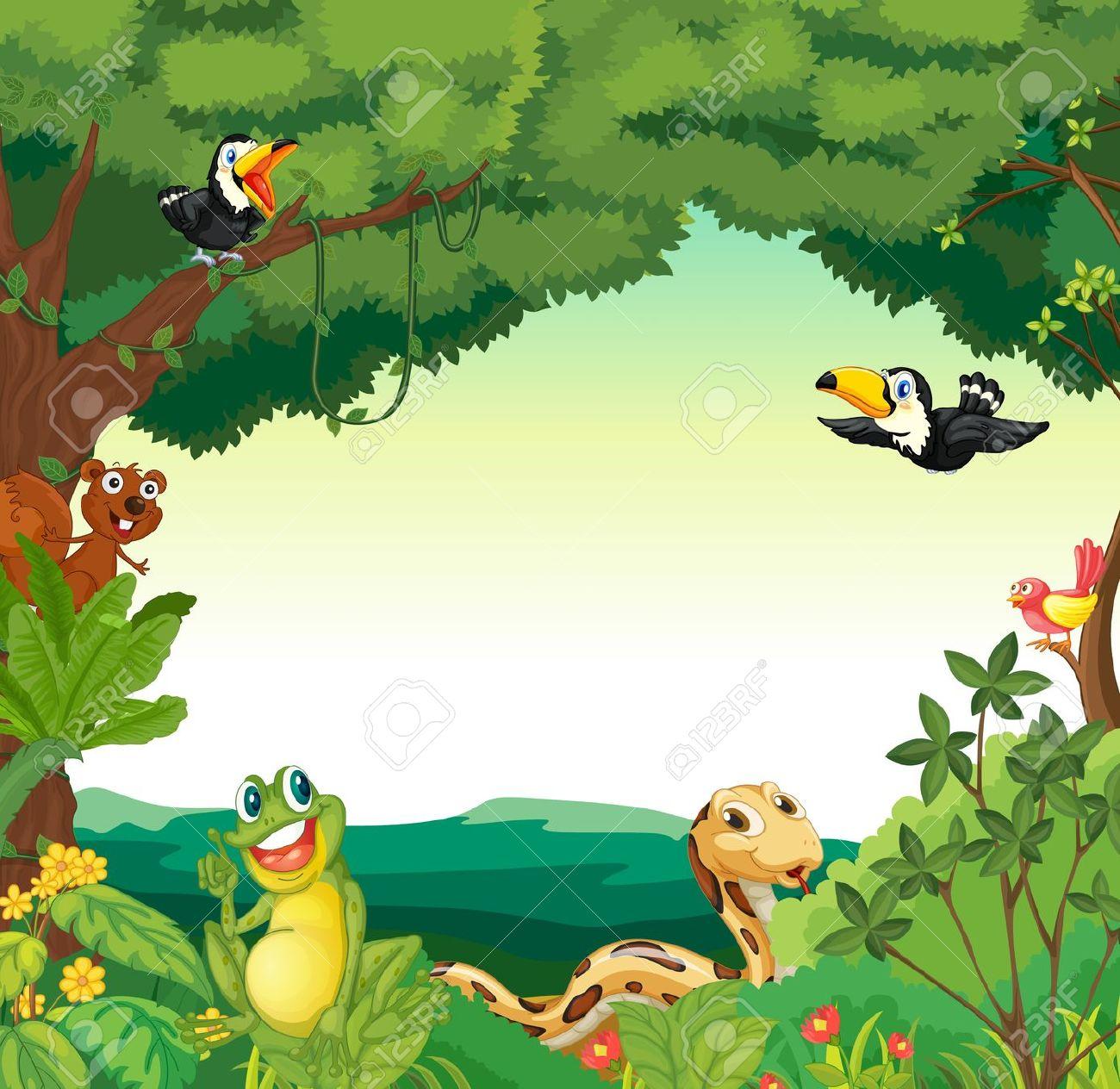 PNG Jungle Scene - 48822