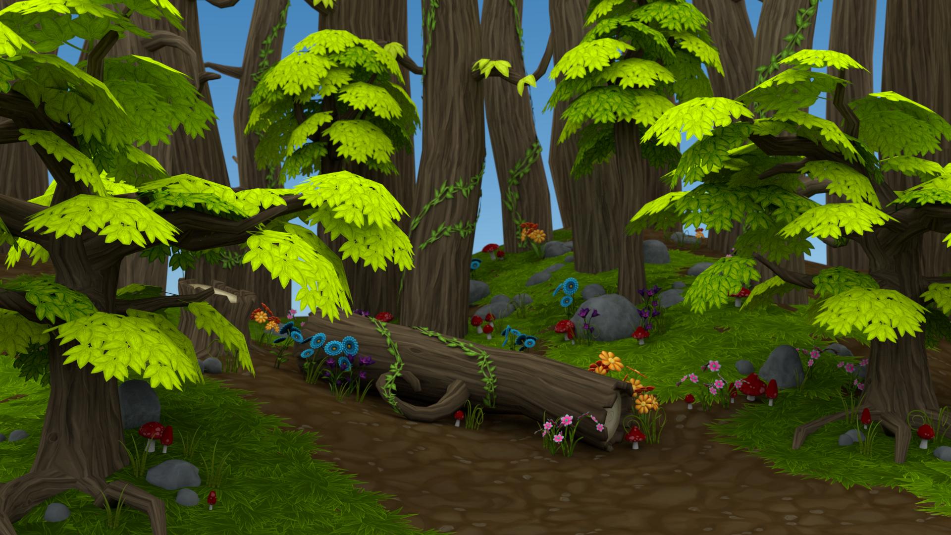 PNG Jungle Scene - 48826