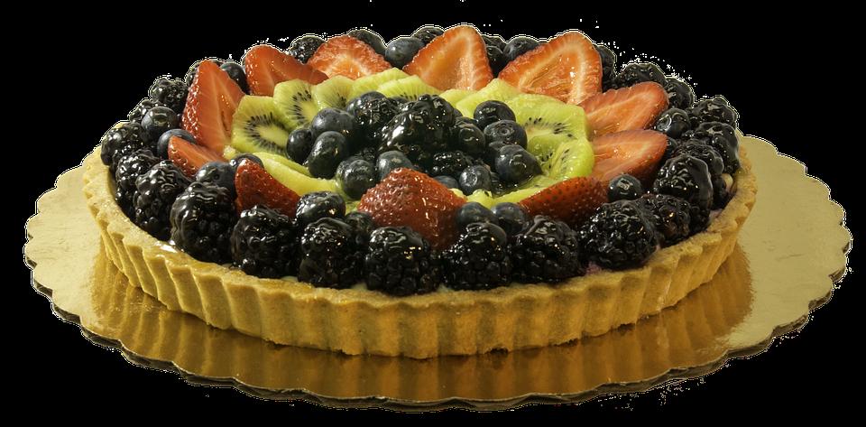 Frugt, Tærte, Dessert, Sød,