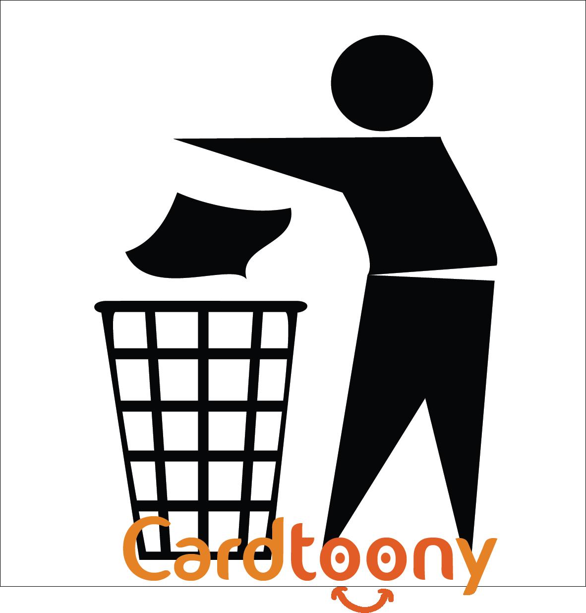 Jual Stiker / sticker tanda jagalah kebersihan buang sampah di tempatnya -  Cardtoony | Tokopedia - PNG Kebersihan