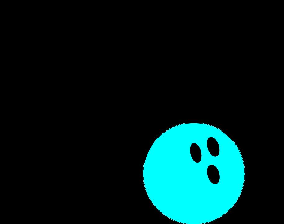 Stifte, Bowling, Blaugrün, Treffen, Streik - PNG Kegeln Kostenlos