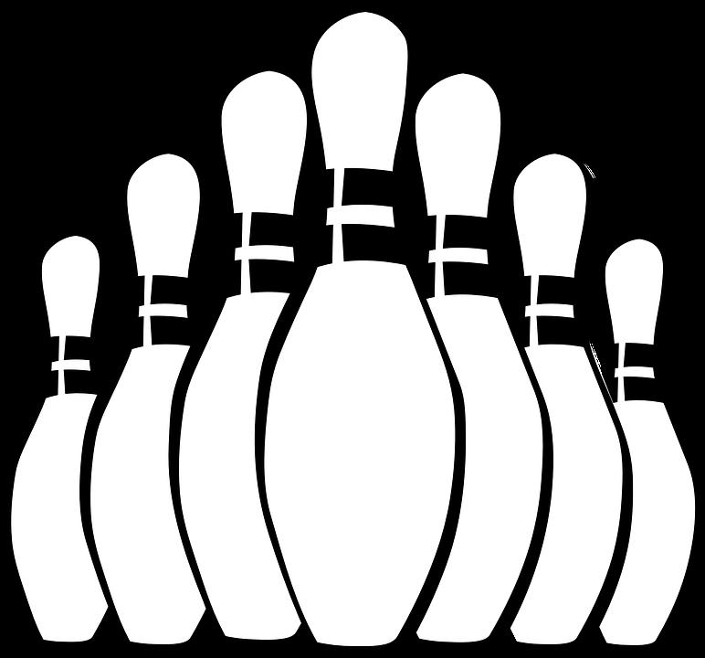Stifte, Sport, Bowling, Kegeln - PNG Kegeln Kostenlos
