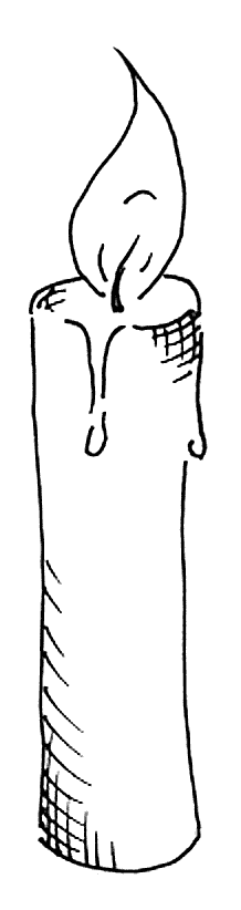 PNG Kerze - 48798